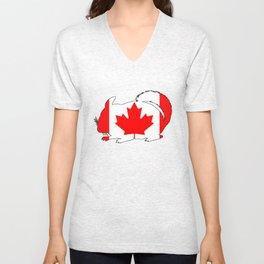 Canada Chinchilla Unisex V-Neck