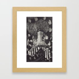 Beetlejuice Framed Art Print