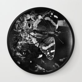A Day full of Flutter bys Wall Clock