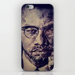 Malcolm X iPhone Skin