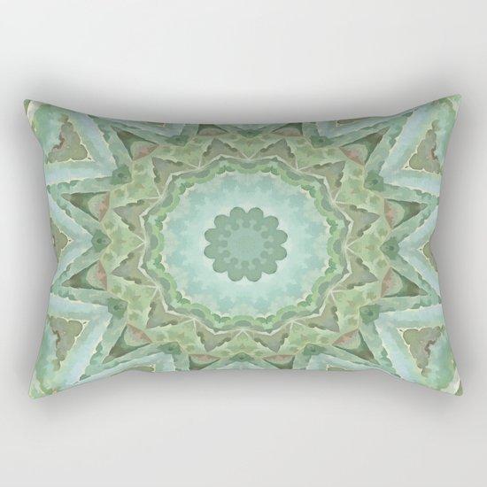 Kaleidoscope of Cacti Rectangular Pillow