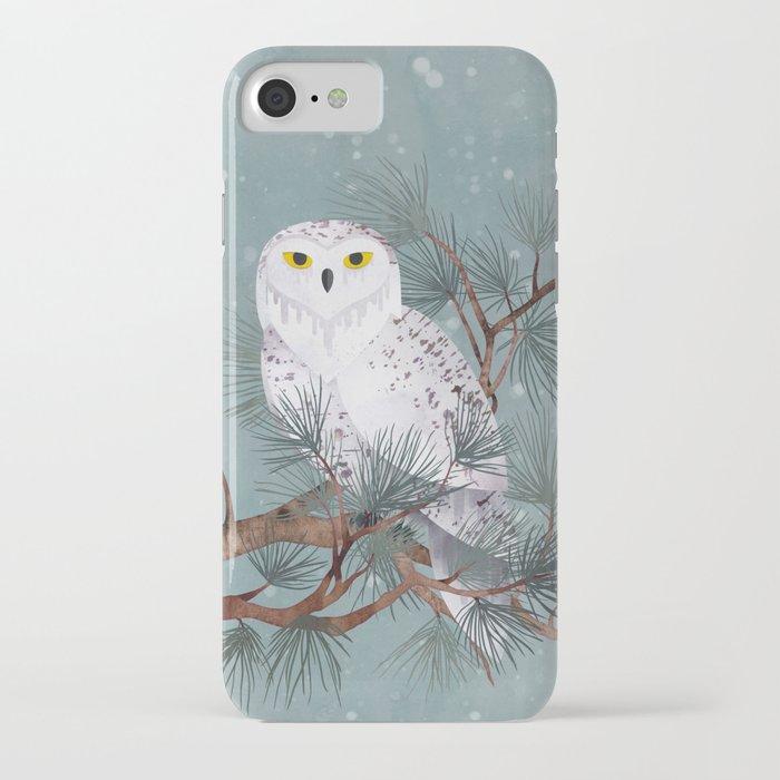 snowy iphone case