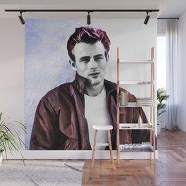 James Dean - Rebel - Pop Art Wall Mural