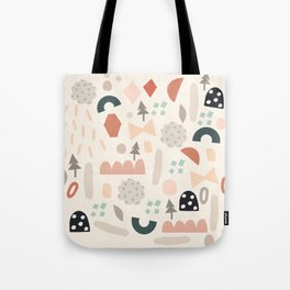Party Shapes Forest Tote Bag