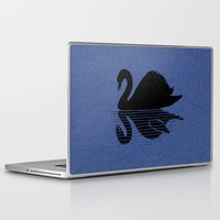 scary Laptop & iPad Skins featuring scary shadow by barmalisiRTB