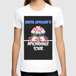 Keith Apicary Apicarnage Tour poster T-shirt
