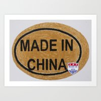 Made In China Art Print
