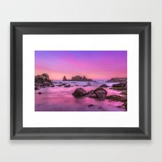 Rosie Sunset Framed Art Print