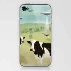 we all like burgers _ US AND THEM  iPhone & iPod Skin