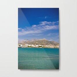 Crete Metal Print