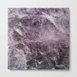 Enigmatic Dark Night Marble #1 #decor #art #society6 Metal Print