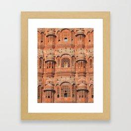 Hawa Mahal (Palace of Winds) in Jaipur, India (2004b) Framed Art Print