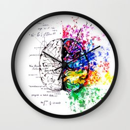 Conjoined Dichotomy Wall Clock