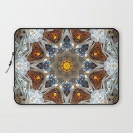 Sagrada Familia - Mandala Arch 2 Laptop Sleeve