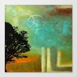 Abstract Modern Art Eternity Canvas Print