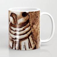 dalek Mugs featuring Dalek by Redeemed Ink by - Kagan Masters