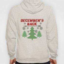 December's Back New Logo Hoody