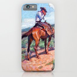 The Day Herder - William Herbert Dunton iPhone Case