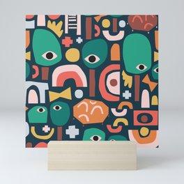 Abstract Playground Mini Art Print