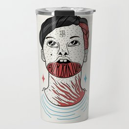 F**K BAD LUCK Travel Mug