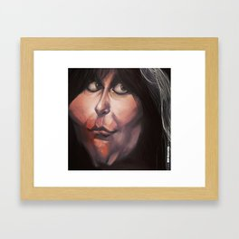 Caricature: Blackie Lawless Framed Art Print