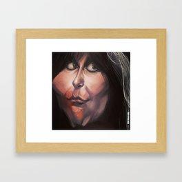 Caricature: Blackie Lawless Framed Art Print