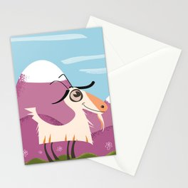 billy goat gruff Stationery Cards