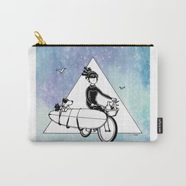 """ Dream. Bike. Surf "" Carry-All Pouch"
