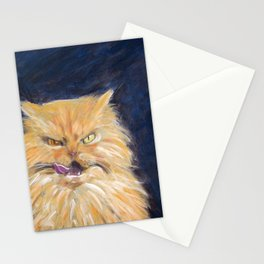 Angry Cat Stationery Cards