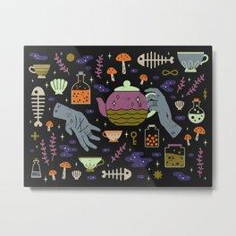 Spooky Horoscopes: Pisces Metal Print