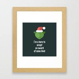 The Grinch! Framed Art Print