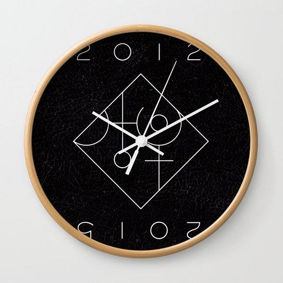 Uranus Square Pluto Wall Clock