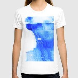 blue statue T-shirt