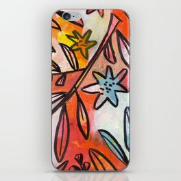 Painted Jungle 2 iPhone Skin