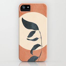 Summer Leaves iPhone Case