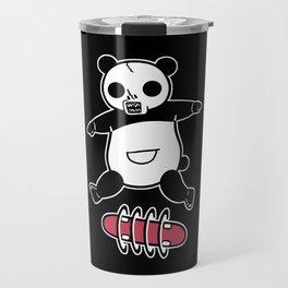 Rad Skull Panda Travel Mug