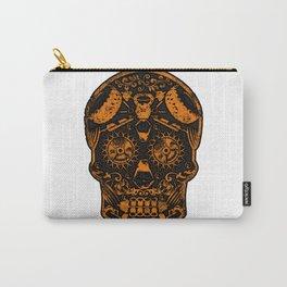 Strongman Sugar Skull, Dia De Los Deadlift Carry-All Pouch
