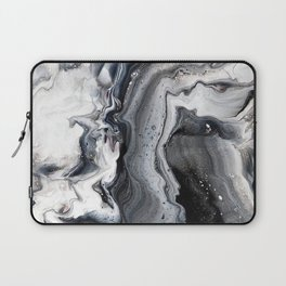 Marble B/W/G Laptop Sleeve
