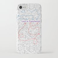 lost in translation iPhone & iPod Cases featuring Lost in Translation by Zuno