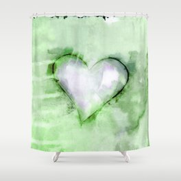 Love Unfolding No.26C by Kathy Morton Stanion Shower Curtain