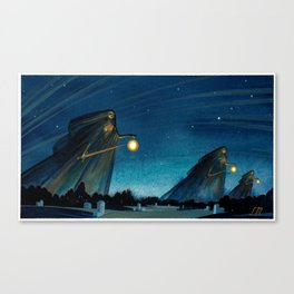 The Night Patrol Canvas Print