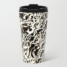 Relief Pattern Abstract Travel Mug