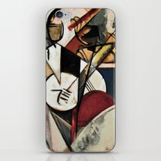 Study after Gleizes' Composition pour Jazz iPhone & iPod Skin