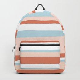 mesa, desert pastel stripes Backpack