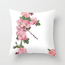 Briar Rose 7C Throw Pillow