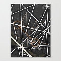 geometric interactions Canvas Print