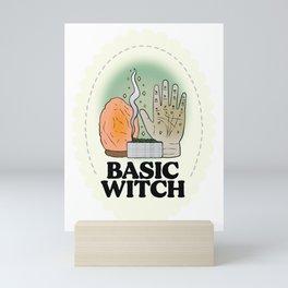 Basic Witch Mini Art Print