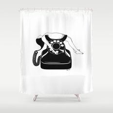 Ring My Bell Shower Curtain