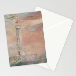 Color Storm at St. Ignace Stationery Cards