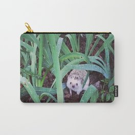 Juni Hedgehog Adventure in Plants Carry-All Pouch
